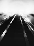 Abstraction noire et blanche pâle verticale de mouvement d'affaires photographie stock libre de droits