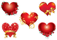 Abstraction Of The Heart. Stock Photos