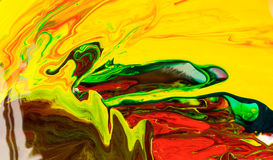 Abstraction of a paint. Royalty Free Stock Photo