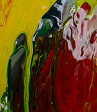Abstraction of a paint. Royalty Free Stock Photos