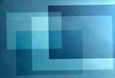 Abstraction passive bleue Fond de tranquilité bleue Image libre de droits