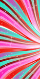 Abstraction pink lines Stock Photography