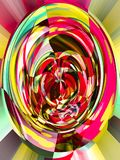 Abstraction with ponetic emotions. Graph and design vector illustration
