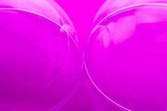 Abstraction rose de bulle Photos libres de droits