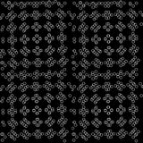 Abstraction.seamless pattern with a tracery pattern. Seamless pattern with a tracery pattern on a dark background Stock Illustration
