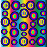 Abstraction, shape, form, circles, pattern Stock Photos