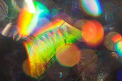 Abstraction of soap bubbles. On a dark background, for blurred background Royalty Free Stock Photos