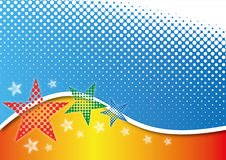 Abstraction star Stock Photo