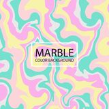 Abstraction of stylish colorful creative marble pastel paper background. vector illustration