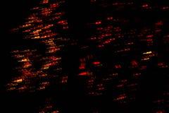 Abstraction sur un fond noir E Texture photographie stock