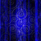 Abstraction with swirls Royalty Free Stock Images