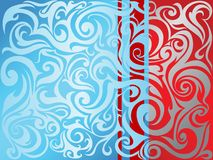 Abstraction with swirls Stock Photos