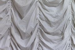 White fabric texture background ,wavy fabric royalty free stock photos