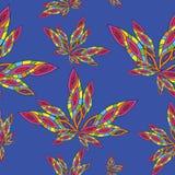 Abstraction_Texture, modelo inconsútil, flor, hoja Fotografía de archivo libre de regalías