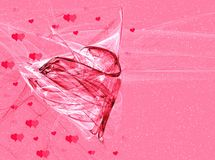 Abstraction Valentine Royalty Free Stock Photography
