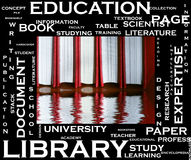 Education concept in tag cloud Royalty Free Stock Photography