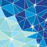 Abstraction. Vector image. Abstraction. Background of triangles card. Vector image Stock Photography