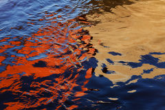 Abstraction of water Stock Photo