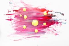 Abstractionism idérik konst Virus och sjukdom arkivfoton