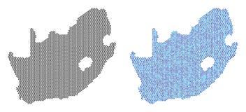 Abstractions de Dot South African Republic Map Photos libres de droits