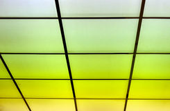 Abstractions light. Lign on the buildin looks like good design Stock Photo