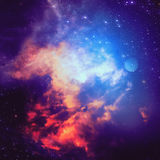 Abstractive Space Background Royalty Free Stock Photos