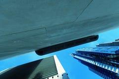 Extracto de los rascacielos Imágenes de archivo libres de regalías