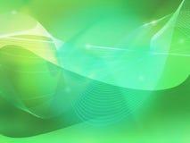 Abstracto refresque las ondas stock de ilustración