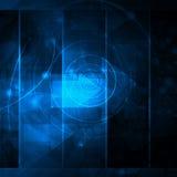 Abstracto refresque las ondas Imagen de archivo