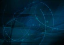 Abstracto refresque las ondas Imágenes de archivo libres de regalías