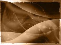 Abstracto refresque las ondas Fotos de archivo libres de regalías