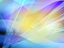 Abstracto refresque las ondas ilustración del vector