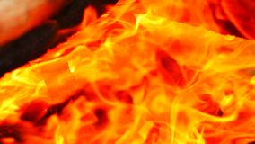 Abstracts background, 4k video clip closeup res fire flame hot background as abstracts background.  stock video