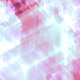 Abstracts background. With transparent rectangular shapes as conceptual metaphor for modern technology, science and business Royalty Free Stock Photo
