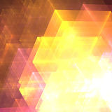 Abstracts background. With transparent rectangular shapes as conceptual metaphor for modern technology, science and business Stock Photos