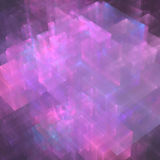 Abstracts background. With transparent rectangular shapes as conceptual metaphor for modern technology, science and business Royalty Free Stock Image