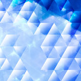 Abstracts background with transparent rectangular Royalty Free Stock Image