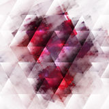 Abstracts background with transparent rectangular Stock Image