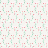 Abstracty background of the branches with hearts. Stock Images