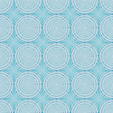Abstracty seamless pattern. The blue color. Royalty Free Stock Photo