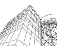 Abstraia a arquitetura Imagens de Stock Royalty Free