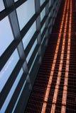 Abstraia a arquitetura e o céu Fotografia de Stock