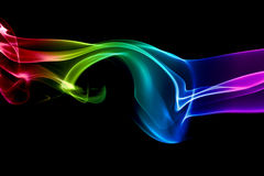Abstraia a arte do fumo imagem de stock royalty free
