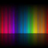 Abstraia as cores 1 do arco-íris Fotos de Stock