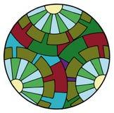 Abstraia círculos ilustração do vetor