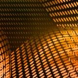 Abstraia a composição amarela moderna ilustração do vetor
