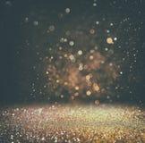 Abstraia a foto borrada da explosão e das texturas da luz do bokeh imagens de stock