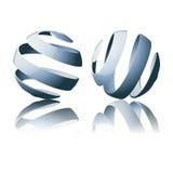 Abstraia globos Fotografia de Stock