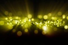 Abstraia luzes Imagem de Stock