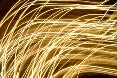 Abstraia luzes moventes Fotos de Stock Royalty Free
